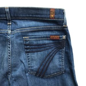 7 FOR ALL MANKIND Dojo Crop Capri Jeans
